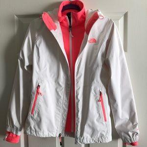 North Face fleece / jacket combo!